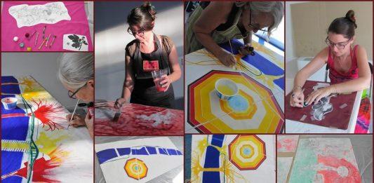 Aurellll (Aurélie Lemille)/ Christiane Fath – Atelier/Work in progress