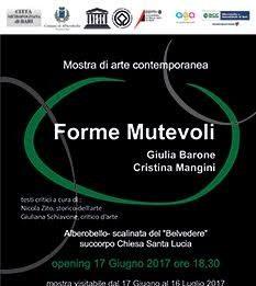 Cristina Mangini / Giulia Barone – Forme Mutevoli