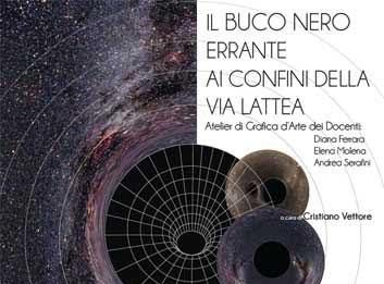Il buco nero errante ai confini della Via Lattea