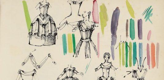 Domenico Gnoli – Disegni per il teatro. 1951-1955