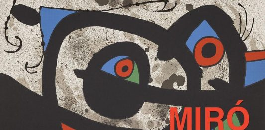 Miró – Le lézard aux plumes d'or