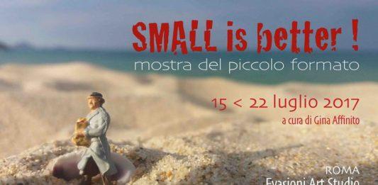 Small is better. Mostra del piccolo formato