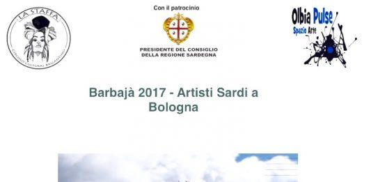 Barbajà2017. Artisti sardi a Bologna