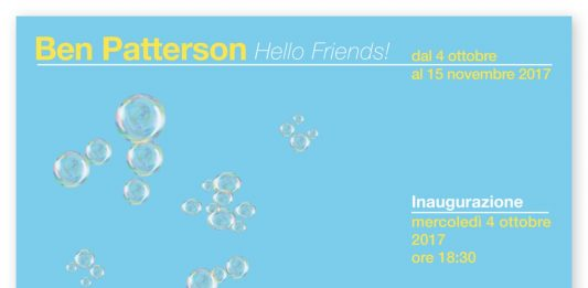 Ben Patterson – Hello friends!