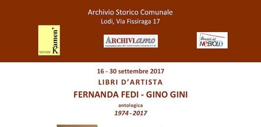 Fernanda Fedi / Gino Gini – Libri d'artista 1974-2017