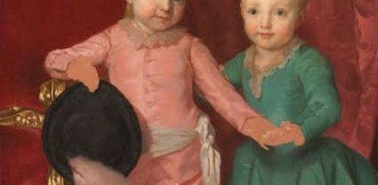 I nipoti del re di Spagna. Anton Raphael Mengs a Palazzo Pitti