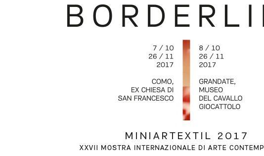 Miniartextil 2017. Boderline