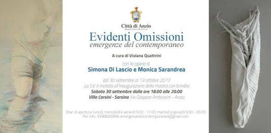 Simona Di Lasio / Monica Sarandrea – Evidenti Omissioni