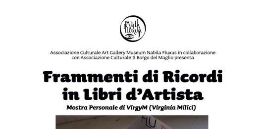 VirgyM – Frammenti di Ricordi in Libri d'Artista