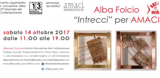 Alba Folcio – Intrecci