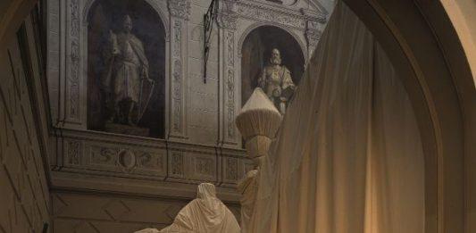 Christo and Jeanne-Claude – Palazzo Bricherasio 1998