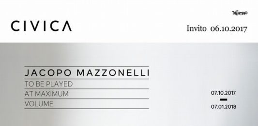 Jacopo Mazzonelli – To be played at maximum volume