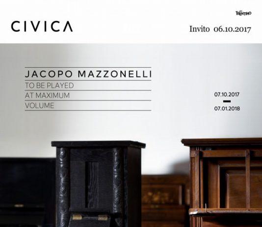 Jacopo Mazzonelli – To be played at maximum volume