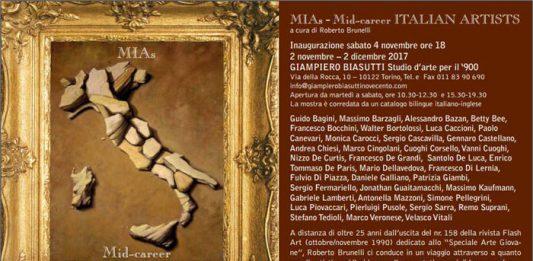 MIAs Mid-career Italian Artists