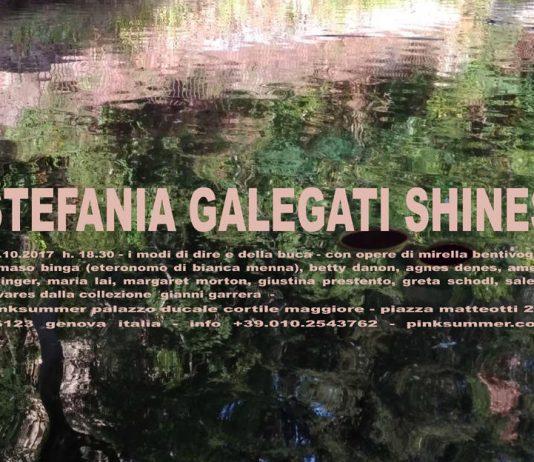 Stefania Galegati Shines – I modi di dire e della buca