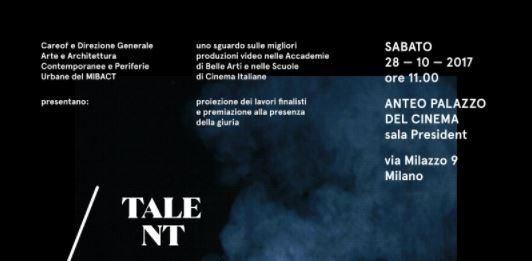 TVA Uno sguardo sulle migliori produzioni video nelle Accademie di Belle Arti  e nelle Scuole di Cinema Italiane  AA. 2016/2017