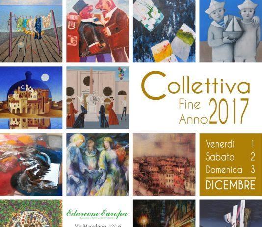 Collettiva di Fine Anno 2017. Mostra mercato d'arte contemporanea