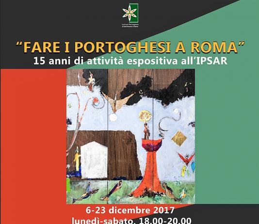 Fare i portoghesi a Roma – 15 anni di attività espositiva all'IPSAR