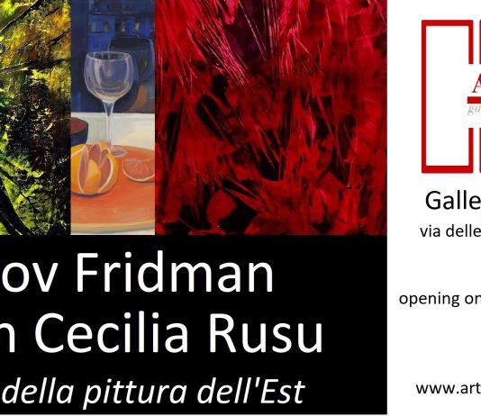 Liubov Fridman – Carmen Cecilia Ruso – Il fascino della pittura dell'Est