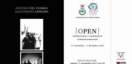 OPEN – generazioni a confronto: Antonio Del Donno / Alessandro Sansoni