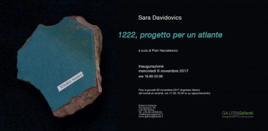 Sara Davidovics – 1222, progetto per un atlante