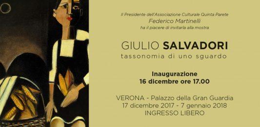 Giulio Salvadori – Tassonomia di uno sguardo