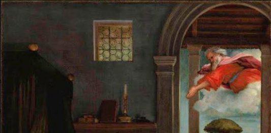 Lorenzo Lotto dialoga con Giacomo Leopardi