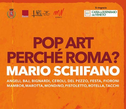 POP ART: perché Roma? Mario Schifano e la Pop italiana
