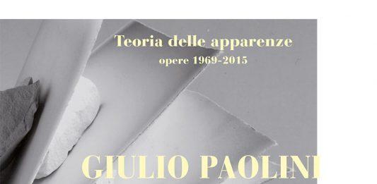 Giulio Paolini – Teoria delle apparenze. Opere 1969-2015