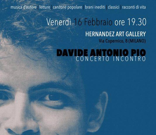 Concerto incontro con Davide Antonio Pio