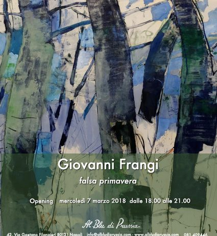 Giovanni Frangi – Falsa primavera