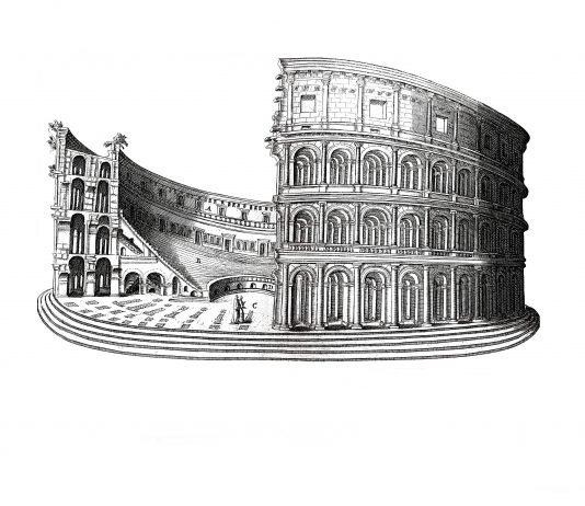 Roma.  La Biblioteca di Sergio Rossetti