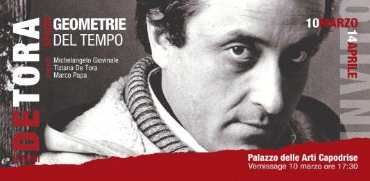 Gianni De Tora – Spazio, geometrie del tempo