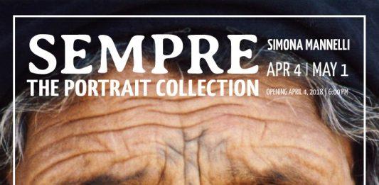 Aperiart: Simona Mannelli – Sempre, the Portrait Collection