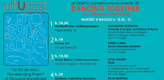 Al Ghetto contemporaneamente # 20:  Giovanni Impellizzieri – Dancing together