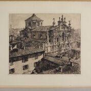 Milano attraverso le stampe, i disegni e i graffiti di un architetto del '900