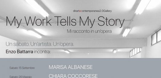 My Work Tells My Story. Mi racconto in un'opera #1: Chiara Coccorese