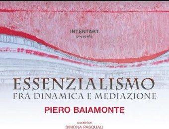 Piero Baiamonte – Essenzialismo fra dinamica e mediazione