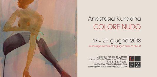 Anastasia Kurakina – Colore nudo