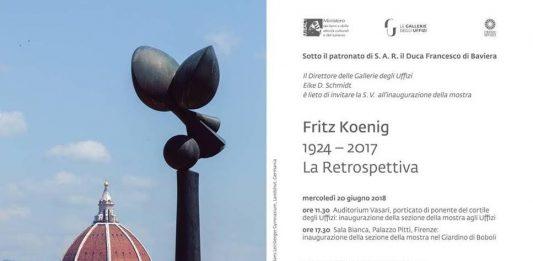Fritz Koenig 1924-2017. La Retrospettiva