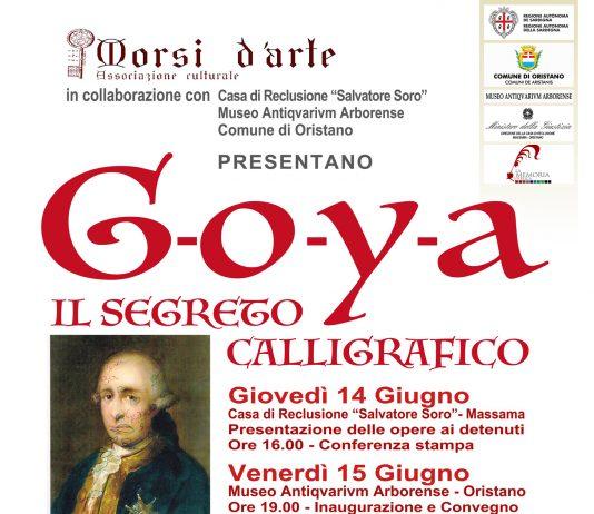 Goya – Il segreto calligrafico