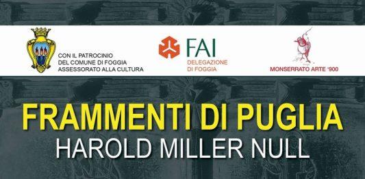 Harold Miller Null – Frammenti di Puglia