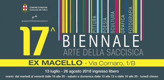 Biennale d'arte della Saccisica XVII Edizione 2018
