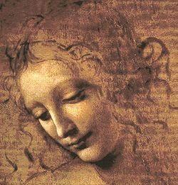 Leonardo da Vinci –  La Scapiliata