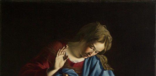Un capolavoro ritrovato di Orazio Lomi Gentileschi, La Madonna in adorazione del Bambino