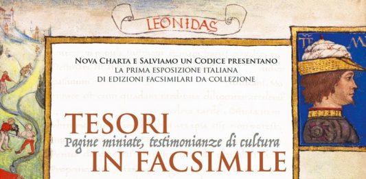 Tesori in Facsimile. Pagine miniate, testimonianze di cultura