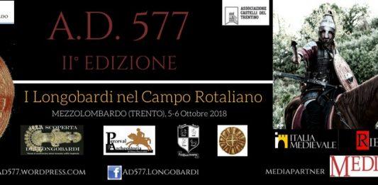 A.D. 577  I Longobardi nel Campo Rotaliano  II^ Edizione