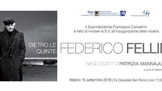 Dietro le quinte, Federico Fellini negli scatti di Patrizia Mannajuolo