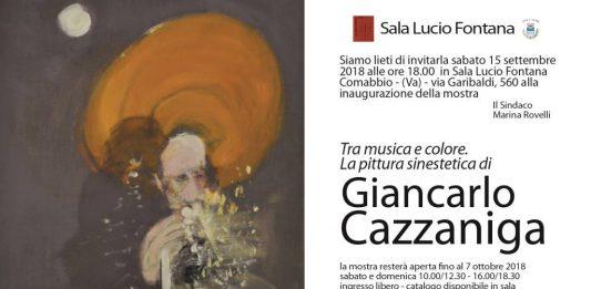 Giancarlo Cazzaniga – Tra musica e colore. La pittura sinestetica di Giancarlo Cazzaniga