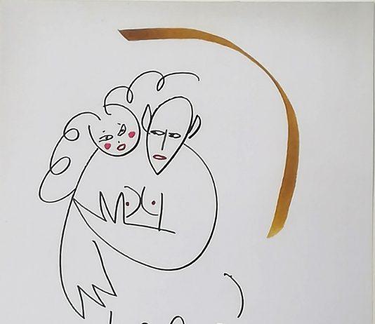 Lindsay Kemp – Disegni dipinti
